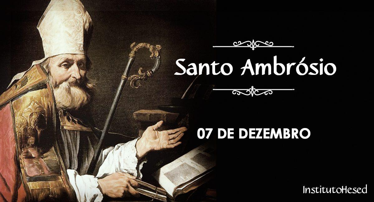 Resultado de imagem para Santo Ambrosio