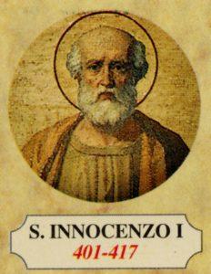 Santo Inocêncio I - Instituto Hesed